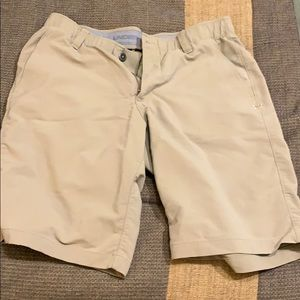 Tan US golf shorts
